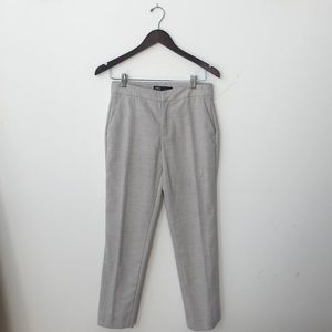 Cream and Grey hued trousers